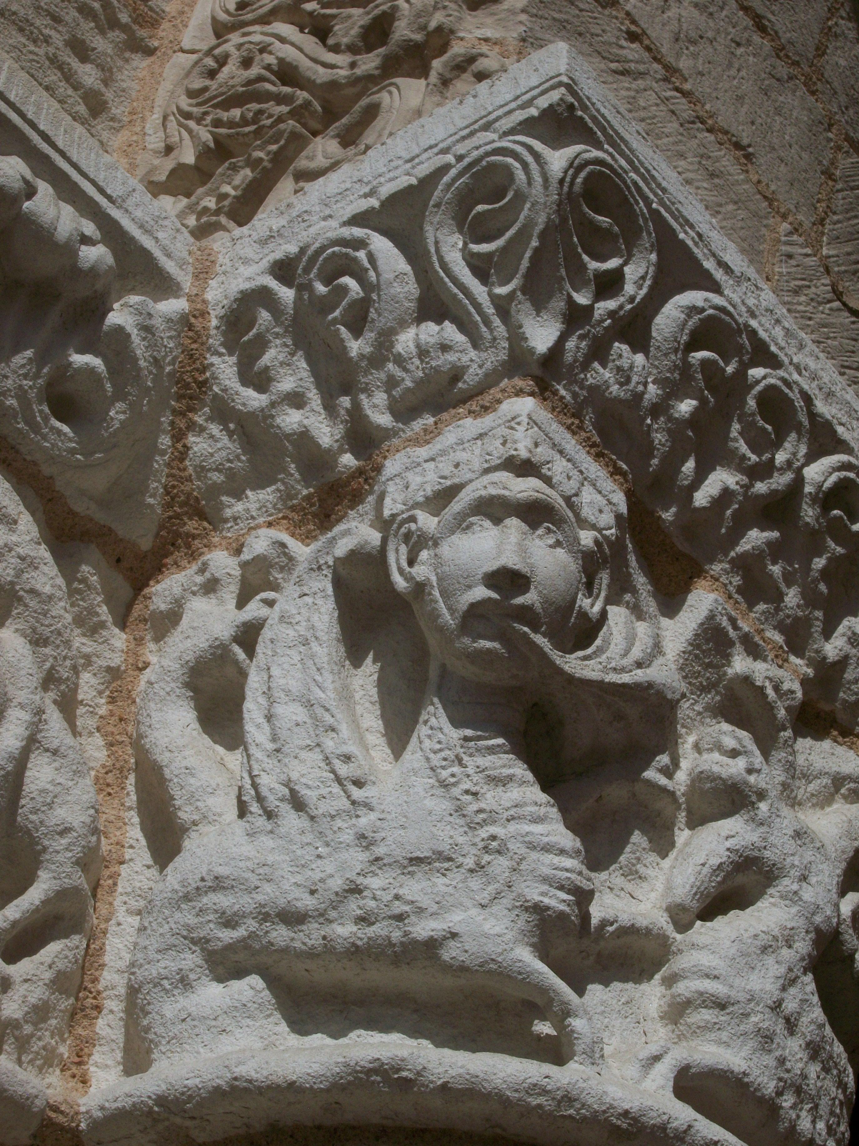 Notre-Dame-la-Grande, détail